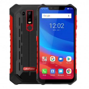 Ulefone Armor 6 veden- ja iskunkestävä IP68 älypuhelin - Punainen