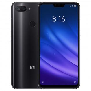 Xiaomi Mi 8 Lite -älypuhelin - Musta