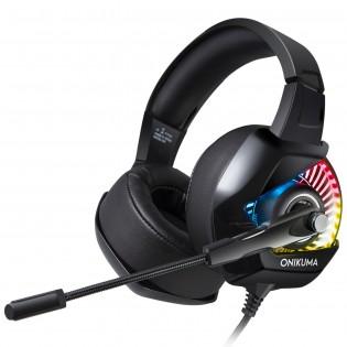 Onikuma K6 pelikuulokkeet - RGB