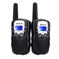 RT388 lupavapaa radiopuhelin on halpa mutta hyvä PMR-radiopuhelin lapselle tai varttuneemmallekin käyttäjälle. Radiopuhelin sopii myös metsälle tai työmaalle.