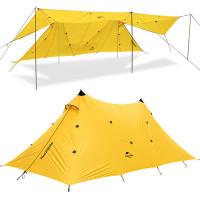 Naturehike Twin Peaks +8 hengen telttakatos on aivan ilmiömäinen lisävaruste festareille, takapihalle tai retkelle sateen varalta. Sadekatos on jopa 6m leveä!
