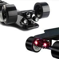 Sähkörullalauta KOOWHEEL Gen 2 kulkee jopa 40km/h ja haluat nähdä eteesi ja tulla nähdyksi. Setti pitää sisällää punaiset LED-valot taakse ja valkoiset eteen.
