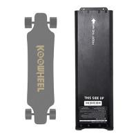KOOWHEEL Gen 2 sähkörullalauta ottaa virtansa LG:n 5500mAh -akusta ja sillä kuljet 15-27km. Hommaa vara-akku mukaasi ja näin tuplaat kantavuuden!