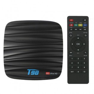 T98 4K HDR Android TV -mediatoistin