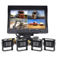 Backkamera med fyra kameror perfekt för husbilen och andra större fordon.