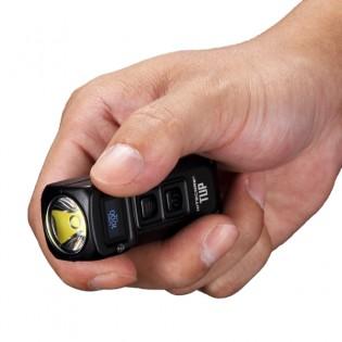 Nitecore TUP LED -taskulamppu 1000lm OLED-näytöllä