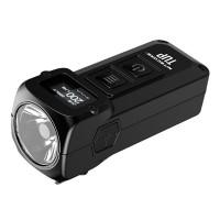 Nitecore TUP - LED-taskulamppu 1000lm valoteholla, OLED-näytöllä ja 70h akkukestolla. Osta tästä kunnon LED mini taskulamppu, joka painaa vain 53 grammaa.