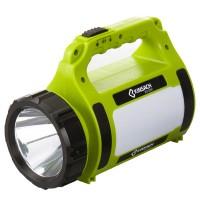 4-in-1 LED hakuvalo sopii hyvin veneeseen tai autoon, koska siinä on hakuvalon lisäksi myös kirkas hätävalo, varavirtalähde sekä retkivalo. Katso hinta!