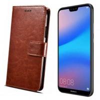 Halpa flip cover -suojakuori Huawei P20 Lite -älypuhelimelle, joka tarjoaa rahanarvoisen lisäsuojan iskunkestokykynä ja näyttöä suojaten. Kannattava hankinta!