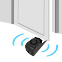 Todella halpa ja kätevä varashälytin kotiin, toimistolle tai mökille. Aseta varashälytin oven taakse ja sen auetessa hälytin päästää 120dB:n ulvonnan ilmoille!