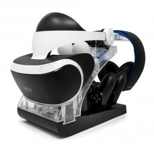 PS4 VR LED-valaistu teline