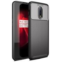 OnePlus 7 cover tillverkat i TPU-plast med kolfiberutseende. Håll din OnePlus 7 smartphone i bra skick, skydda den med ett bra cover.