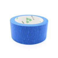 Blå maskeringstejp är ett väletablerat ytmaterial för 3D-skrivare när syftet är att skriva ut PLA plast.