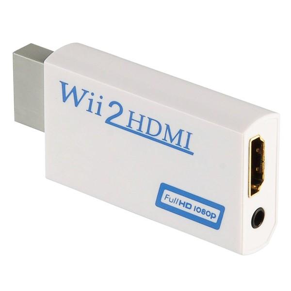 HDMI adapteri Nintendo WII konsolille