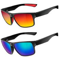 Komfortable polariserede solbriller til mænd og kvinder fra RockBros. UV-beskyttede og holdbare rammer, perfekt til cykling.