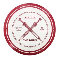 Yikun Twin Swords Driver frisbee