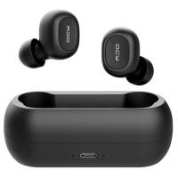 Täysin langattomat QCY T1 Bluetooth 5.0 kuulokkeet istuvat tiiviisti korviin vaimentaen samalla taustameteliä. IPX4-suojatut kuulokkeet käy hyvin urheiluun.