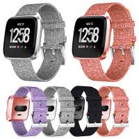 Fitbit Versa -älykellon kankainen vararanneke, jolla saat kellon näyttämään special editionilta. Saatavilla monia eri värejä!