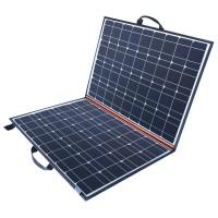Helposti mukana liikkuvalla 100W aurinkopaneelisalkulla saat virtaa juuri sinne missä sitä kipeimmin tarvitset! Lataa veneen tai asuntovaunun akut täyteen.