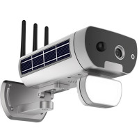 Huippuluokan langaton FullHD valvontakamera aurinkopaneeleilla ja 10000mAh akulla ulkokäyttöön. Aseta liikehälytykset puhelimeesi ja narauta tunkeilijat.