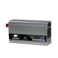 1000W invertteri oikosulku sekä yli- ja alijännitesuojauksella ja USB-portilla. Invertteri on loistava lisävaruste asennettavaksi vaikkapa autoon tai veneeseen.