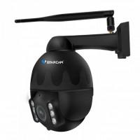 Etäohjattava WiFi ulkovalvontakamera FullHD-videolla & 4x zoomilla. Ohjaa kameraa ja tallenna kuvaa tietokoneelle tai puhelimeen. Huippuominaisuudet!