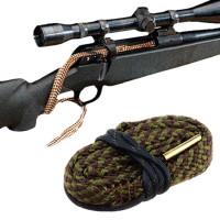 Aseenpuhdistusnaru eli snake on jokaisen aseharrastajan tärkein työkalu. Kevyt ja pienikokoinen, kulkee aina mukana. Puhdista ase heti ammunnan jälkeen.