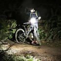 3-in-1 Polkupyörän valo nopeusmittarilla