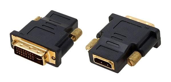 HDMI-DVI-D adapteri