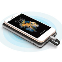 Tronsmart Prime powerbankissa on integroitu Lightning-kaapeli Applen tuotteita varten. Varavirtalähteessä on 3 ulostuloa, 2.4A-nopealataus & 10 suojausta!
