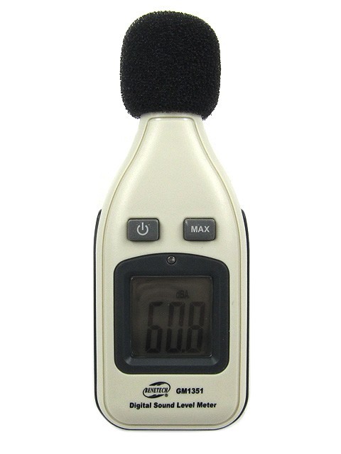 Kompakt decibelmätare