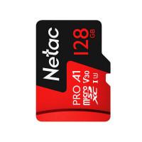 Netac's minneskort på 128GBär ett minneskort avsedda för personer som behöver mycket lagringsutrymme.