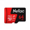 Netac Micro SDXC 64GB muistikortti UHS-3