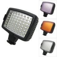 LED lampa för DSLR kameror som ger konstant ljus från samma vinkel som kameran.