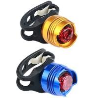 Punainen LED-pyöränvalo pyörään. Kolme eri valotyyliä. Hommaa kunnon valo ja näy liikenteessä! Käy myös vaikka lastenrattaisiin huomiovaloksi!
