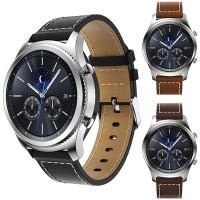 Samsung Gear S3 -älykello on makea ilmestys jos itsessään, mutta entä kun siihen vaihtaa nahkaisen rannekkeen. Vaihtamalla rannekkeen, saat älykelloon aivan uudenlaisen ilmeen ja näin kello menee paremmin juhlissa & työpaikalla.