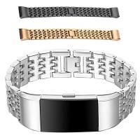 Fitbit Charge 2 metallarmband ger ditt aktivitetsarmband ett riktigt läckert utseende. Passar både till vardags och fest.