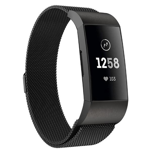 Fitbit Charge 3 teräsranneke