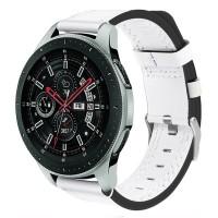 Samsung Galaxy Watch -älykello on erittäin tyylikäs ja sellainen juuri tarvitsee asiaankuuluvan rannekkeen. Tämä nahkaranneke on hyvä lisä rannekkeen ulkonäköön ja sen ansiosta kello menee paremmin arki-, juhla- sekä työkäytössä.