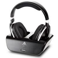 Artiste ADH300 on langaton kuulokejärjestelmä kotiin ja sopii erinomaisesti käytettäväksi television tai pelikonsolin kanssa perinteisten kaiutinten sijaan esimerkiksi yöllä. ADH300 järjestelmässä on lataus/lähetin alusta kuulokkeille.