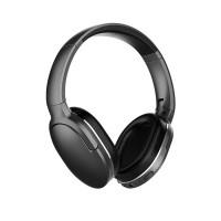 Baseus D02 ovat suljetut pelkistetyn tyylikkäät Bluetooth 5.0 kuulokkeet. Jämäkkä rakenne ja tiiviisti istuvat suuret kupit, jotka tulevat korvien ympärille.