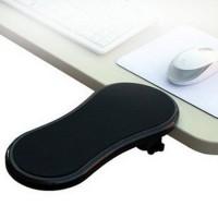 Työpöydän reunaan kiinnitettävä käsivarsituki hiirikädellesi tai molemmille käsillesi auttaa sinua löytämään oikean työasennon tietokoneesi ääressä.