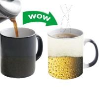 Tämä lämpöön reagoiva muki saattaa aiheuttaa työnantajassasi pientä kiukkuisuutta, kun hän näkee sinulla tällaisen kahvimukin pöydällä.