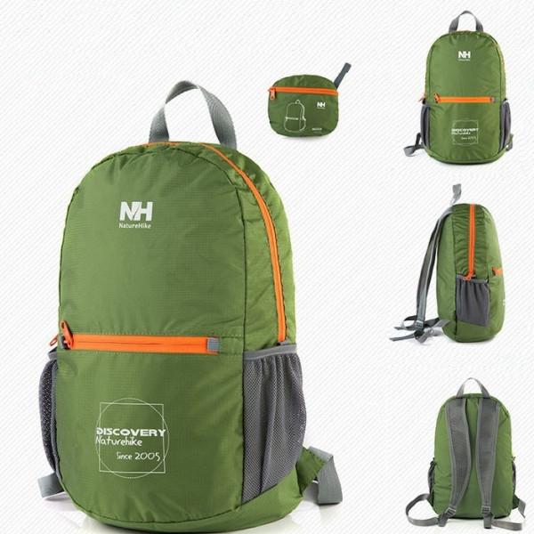 NatureHike 15L hopfällbar ryggsäck e