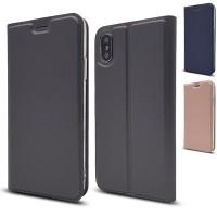 Simpelt och stilrent skydd för din iPhone X. Skyddet behåller din telefon i nyskick och förhindrar att repor bildas på ytan. Finns ett fack för ett kort också!