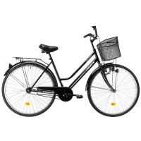 Laadukas yksivaihteinen naistenpyörä katuajoon. Tämä pyörä on suunniteltu päivittäiseen käyttöön ja sillä kulkee mukavasti vaikka koulu- ja työmatkat.