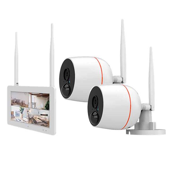 Juanvision overvågningssystem med berøringsskærm