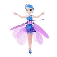 Hauska lentävä Fairy-keiju -lelu, jonka osat ovat turvallista taipuisaa muovia. Ohjaa keijua kädelläsi. Automaattinen katkaisu törmätessä esteisiin.