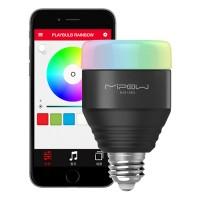 MIPOW-älyvalosarjaa täydentävä RGBW-älylamppu, jota voit ohjata yhtäaikaisesti muiden älyvalojesi kanssa, toistaa valo-ohjelmia tai ajastaa! Sopii E27-kantaan.