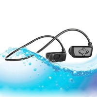 Vattentäta hörlurar med en inbyggd MP3-spelare och Bluetooth-anslutning är det perfekta tillbehöret för simturen.